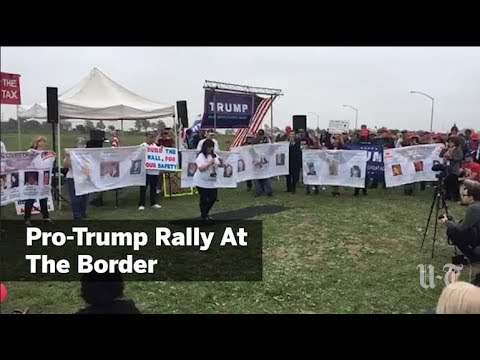 Pro-Trump Rally At Border Pt. II | San Diego Union-Tribune