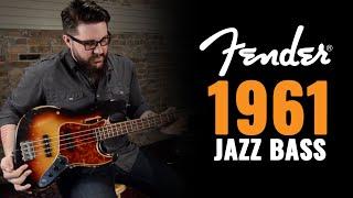 1961 fender jazz bass three tone sunburst