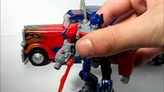 TRANSFORMERS: Revenge of the Fallen Optimus Prime (Leader Class) (Se.2 Ep.38) HD