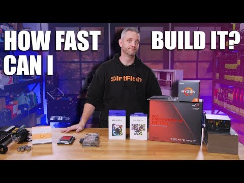 Trying to see how fast I can build a watercooled rig!