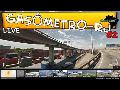 🔴 GASÔMETRO - RJ MAPA RBR #2