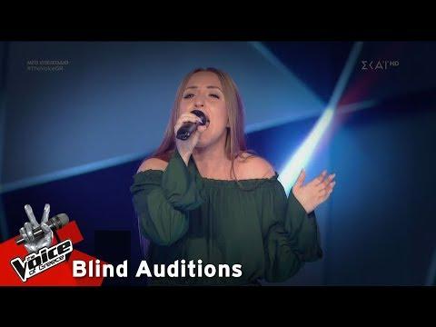 Δανάη Μαστοράκη – Zombie | 4o Blind Audition | The Voice of Greece