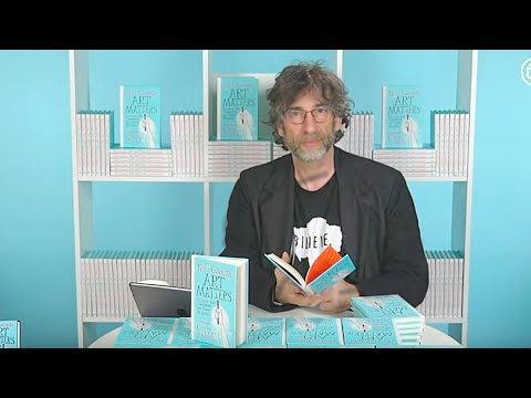"Neil Gaiman Book Signing & Interview | ""Art Matters"""
