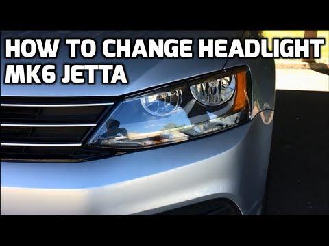How To Change Headlight Drl Bulb On Mk6 Vw Jetta 2017