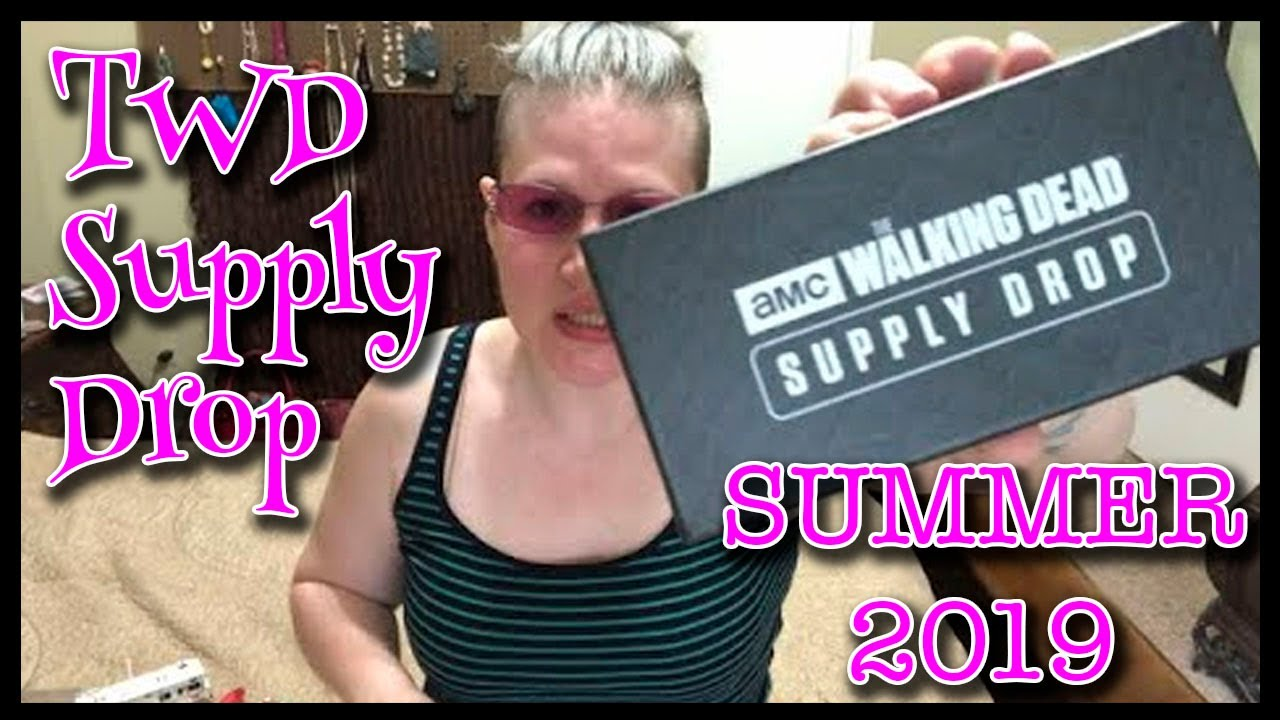 HOW AWESOME IS THIS? Walking Dead Supply Drop - (TWD Subscription Box) Summer 2019