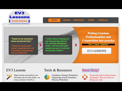 EV3Lessons com - Programming and FLL Resources