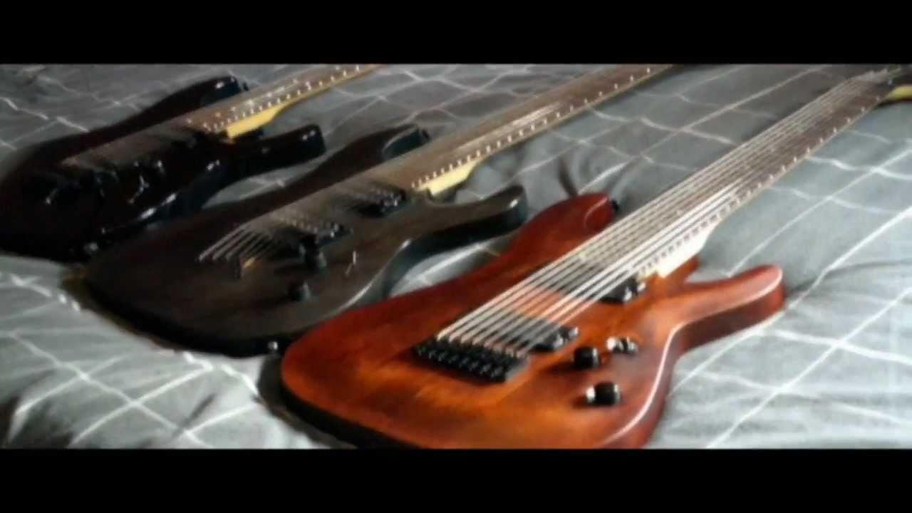 8 string from 6 string guitar part 1 neck comparison youtube. Black Bedroom Furniture Sets. Home Design Ideas