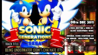 CHEMICAL PLANT ZONE with lyrics (Sonic Generations - modern version)