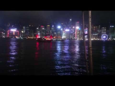 My trip to Hong Kong - symphony of lights lightshow