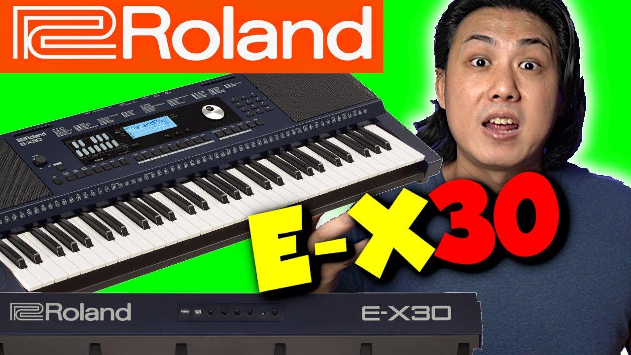 NEW ROLAND E-X30 - Can this Keyboard BEAT Yamaha PSR, Casio CT-X & Korg?