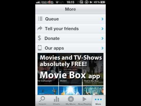 Music Box Cydia app review