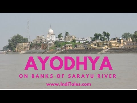On the River Sarayu in Ayodhya