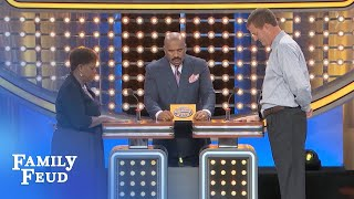 HUBBY CHEATED? That WOOD CHIPPER'S gonna come in HANDY! | Family Feud