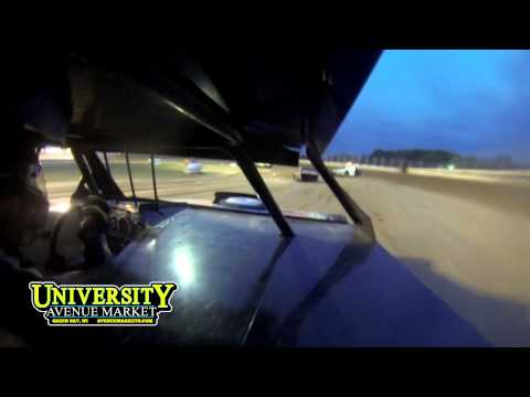 Chris Budzban IMCA Northern Sportmod Heat Race Manitowoc Expo Speedway 8/21/13