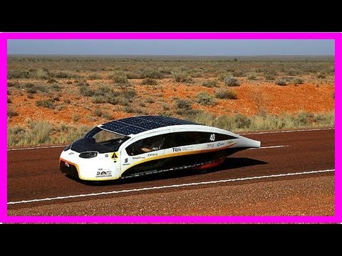 Solar-powered car, 'Stella Vie,' that can supply energy back to the grid hailed 'the future of elect