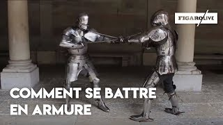 Video Le combat en armure au XVe siècle download MP3, 3GP, MP4, WEBM, AVI, FLV Agustus 2018