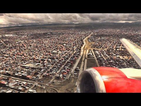 B737 Takeoff La Paz Bolivia