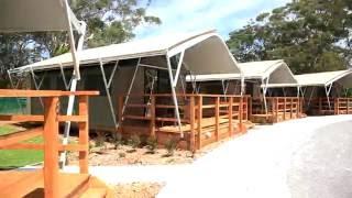 SAFARI TENTS AT SHOAL BAY HOLIDAY PARK