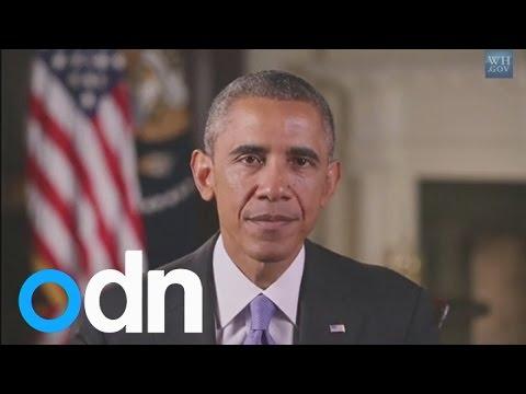 Barack Obama addresses the Ebola outbreak