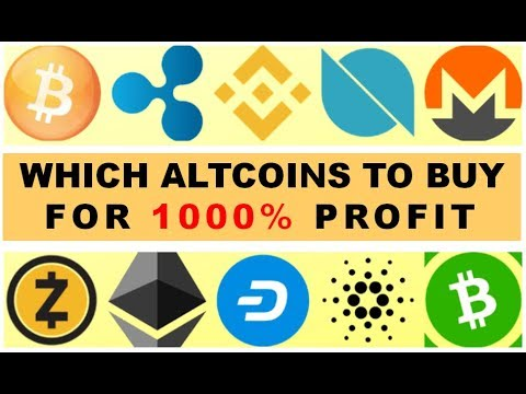 """WHICH ALTCOINS TO BUY FOR """"1000%"""" PROFITS? - 03/11/2019 - WEEKLY CRYPTO LIVE STREAM"""