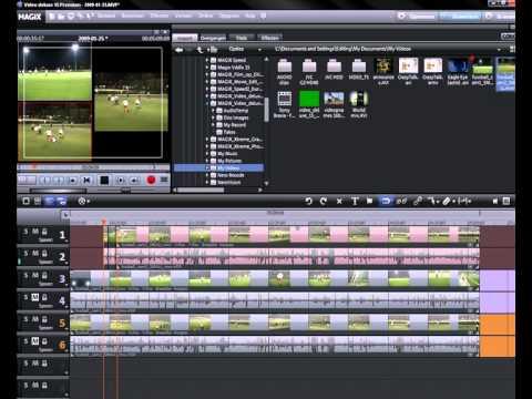 Tutorial: MAGIX Video deluxe 16 - Multicam Editing (NL)