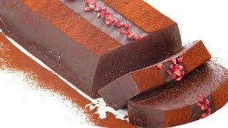 Террин - необычный десерт) Terrine Chocolat