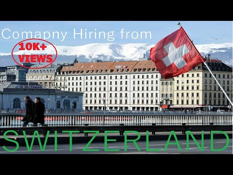 How to apply online for job in Switzerland/2018/ WEBSITE // GENUINE PROCESS//SWITZERLAND WORK PERMIT