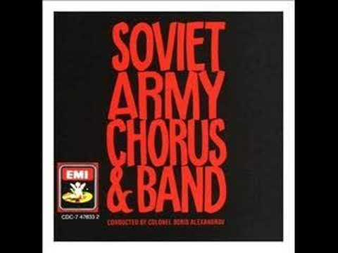Soviet Army Chorus & Band - Song of the plains