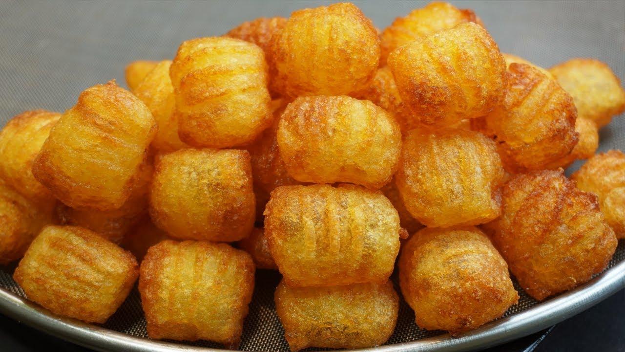바삭한 감자튀김 만들기   에어프라이어 감자   아이들간식    Crispy French Fries