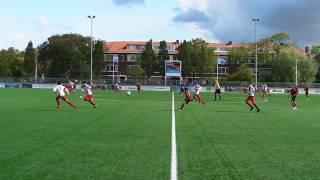 Laakkwartier JO15-1 - HVV Hercules Den Haag JO15-1, 15-9-2018, 2e helft