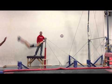 Abby Kaufman - Level 10 Gymnastics - Uneven Bars Jaeger