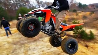 Fail Crash Yamaha Raptor - ATV quad compilation 2015 #2