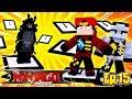 Minecraft LEGO NINJAGO - THE NINJAGO MUST CHASE LORD GARMADON THROUGH TIME!!!