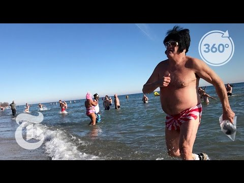 Take the Polar Plunge in Milwaukee | The Daily 360 | The New York Times