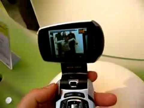 CeBIT 2006 - Samsung P900 DVB-H