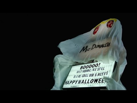 Bob Delmont - A Burger King Dressed as McDonalds for Halloween