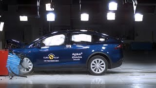 Tesla Model X - 2019 - Crash test Euro NCAP