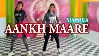 AANKH MAARE | DANCE CHOREOGRAPHY | SIMMBA | RK Dance Studio