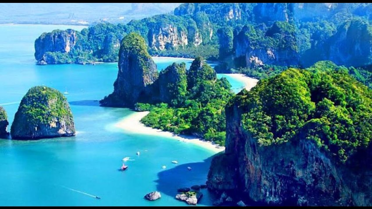 Top10 Recommended Hotels in Railay Beach, Thailand - YouTube