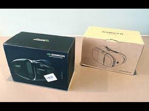 68949c87f27 VR Shinecon Vs VR BOX V2 Headset - Comparision - YouTube