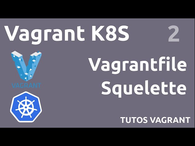 VAGRANT K8S - 2. SQUELETTE DU VAGRANTFILE