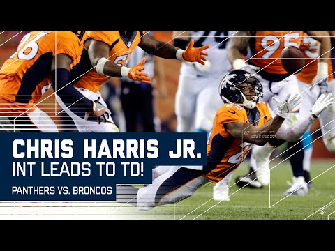 Chris Harris Jr. Diving INT Leads to CJ Anderson