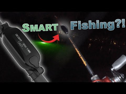 Fishing With The WORLD's FIRST Smart Fishing Rod?!