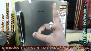 Samsung 212 Litre 4 Star Direct Cool Single Door Refrigerator | RR22M272YS8/NL