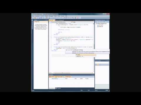Visual Basic Tutorial - Paint Programm
