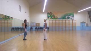 Danse en ligne Valse en ligne ou en miroir (Un homme debout)
