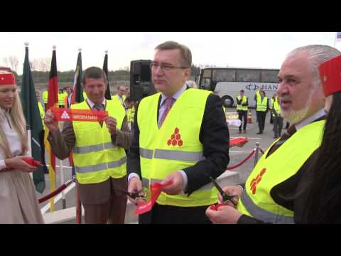 Opening of the Katoen Natie Logistics Centre in Muuga Harbour, Estonia