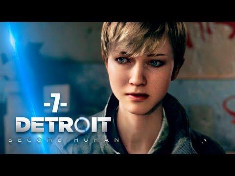 Zagrajmy w Detroit Become Human #7 - UCIECZKA KARY I ALICE - Polski gameplay - PS4 PRO