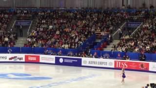 Валерия Михайлова , Чемпионат России по фигурному катанию. Челябинск 24.12.2016