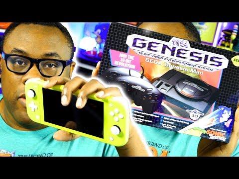 Nintendo Switch Lite, Sega Genesis Mini, Movies & Mail Unboxing